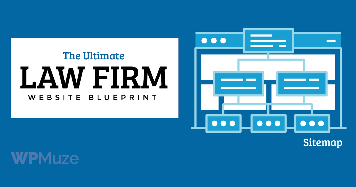 How to create a sitemap for a law firm website